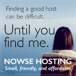 advertising for Nowse Hosting.com