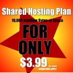 mock ad for cheap hosting
